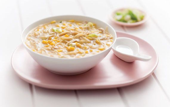 Chicken and Sweetcorn Noodle Soup - San Remo