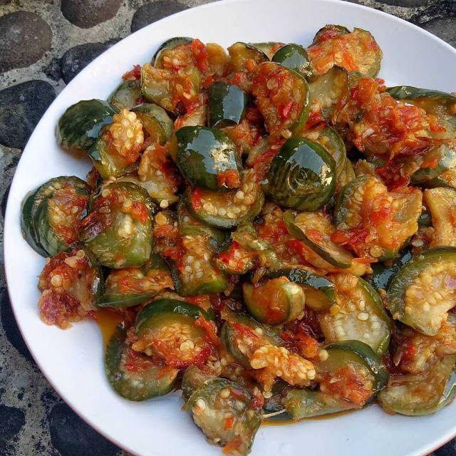 Sambal Terong Bulat By Ms Tatami Resep Aneka Jajan Pasar Terong Resep Makanan Makanan