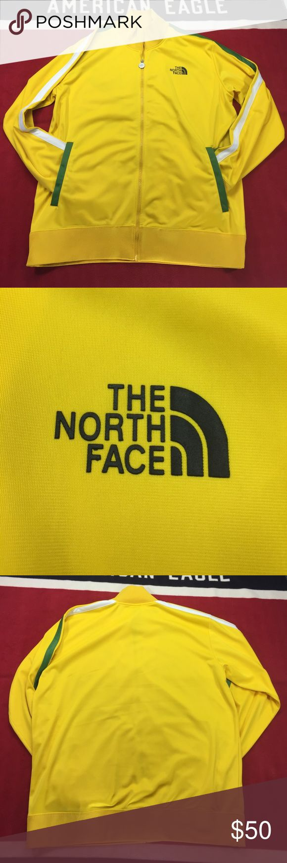 The North Face Men's Jacket vibrant yellow color EUC only worn a couple times The North Face Jackets & Coats