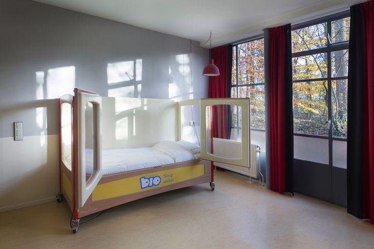 Speciale bedden voor speciale kinderen in het Bio Vakantieoord, Arnhem