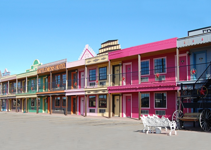 Will be here soon! The Big Texan Motel - Route 66, Amarillo, TX