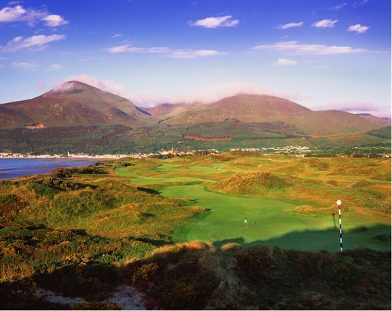 The Championship Golf Links at Royal County Down Golf Club, in Northern Ireland is our #GolfCourseOfTheDay! | Rock Bottom Golf #RockBottomGolf