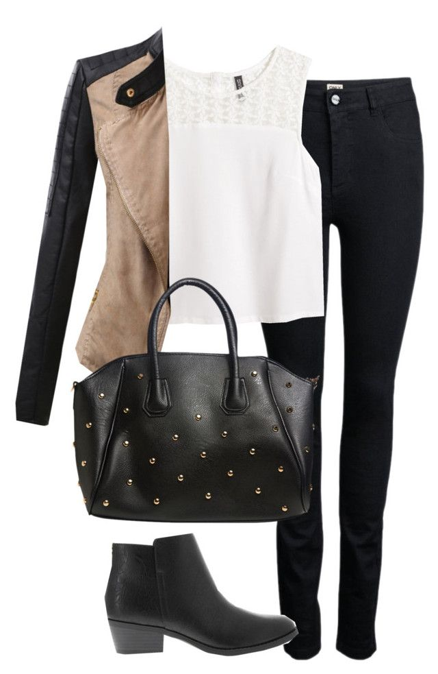 Hanna Marin inspired outfit for a long flight by liarsstyle on Polyvore featuring polyvore, fashion, style, H&M, Doublju, ONLY, ZAK, Wet Seal and clothing