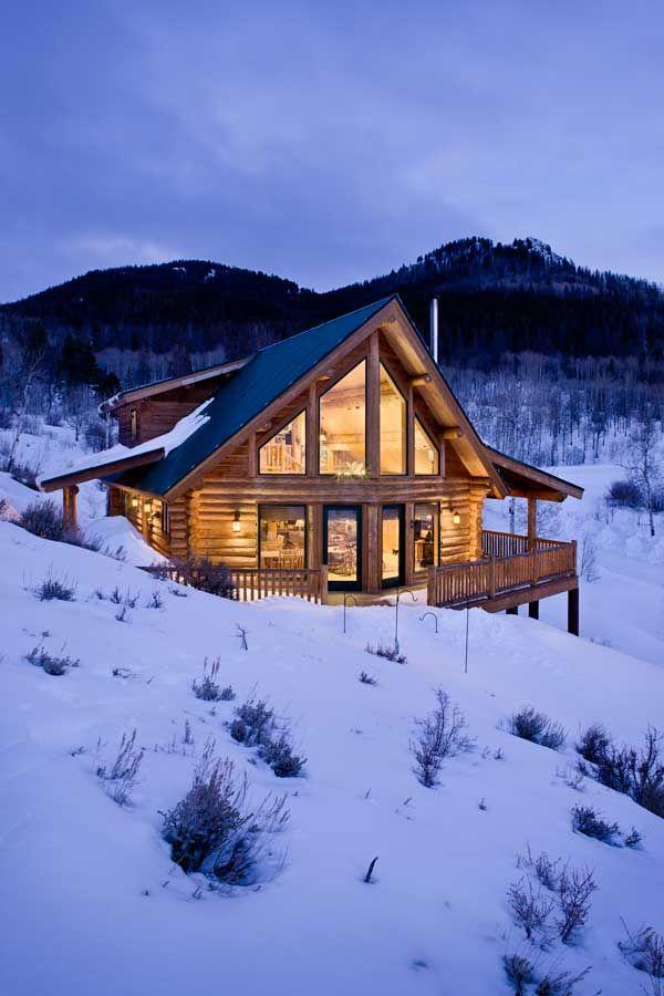 Tiny Home Designs: 131 Best Log Homes Images On Pinterest