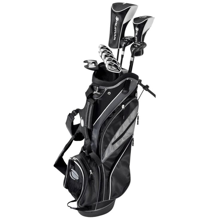 The ATS Black Matte Complete Set was designed for the intermediate every day golfer, as well as beginners who want a long lasting, durable set without over paying.
