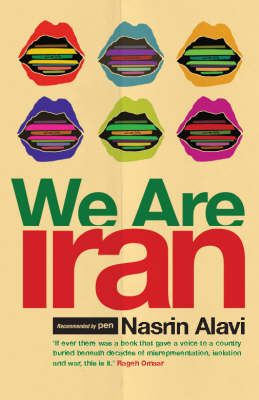 Collage of extracts from the roughly 64 000 bloggers in Iran (for the 2006 edition, which I have)