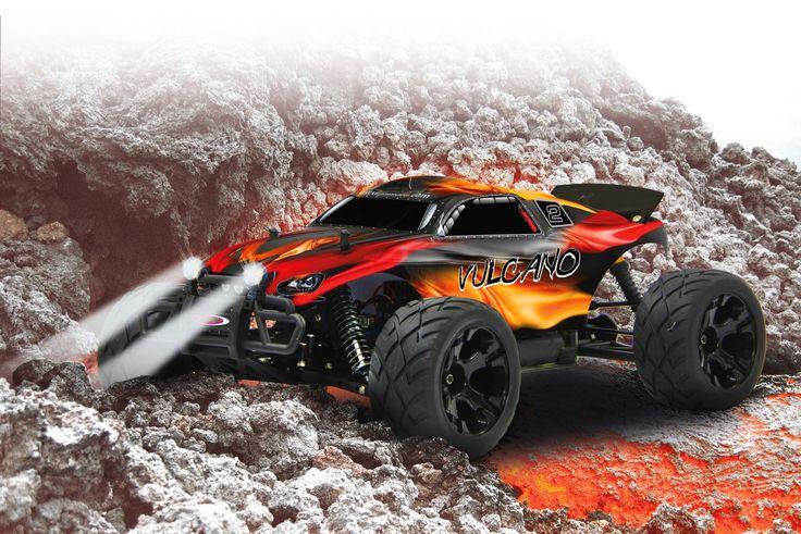 Vulcano Truggy EP 4WD LED 2,4 GHz 1:10 Jamara 053368