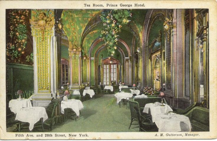 Tea Room, Prince George Hotel, circa early 1900's