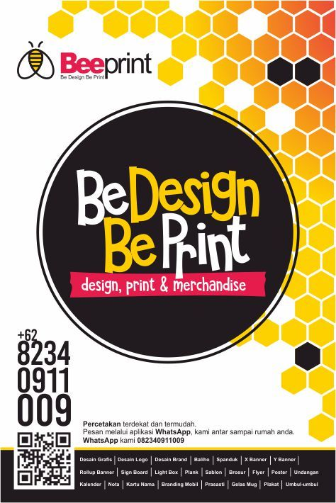 Bee Print and Design