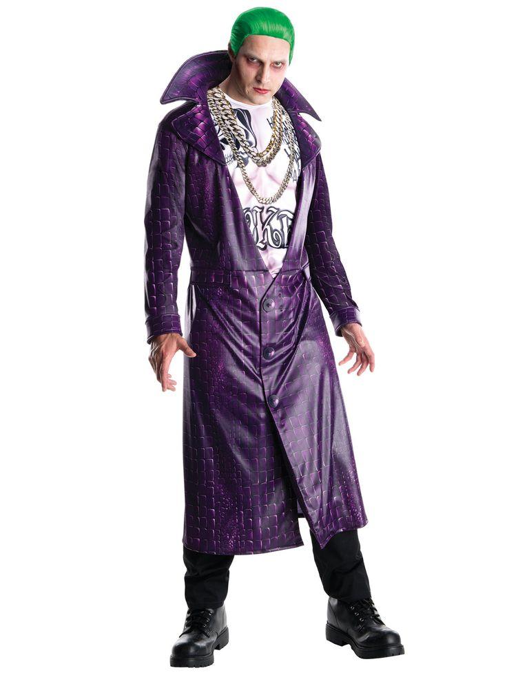 """Suicide Squad Joker Kostüm Lizenzware bunt. Aus der Kategorie Halloween Kostüme / Halloween Kostüme Herren. Nicht nur im jüngst erschienenen """"Suicide Squad"""" ist der Joker ein Spaßmacher, mit dem man sich besser nicht anlegen sollte!"""