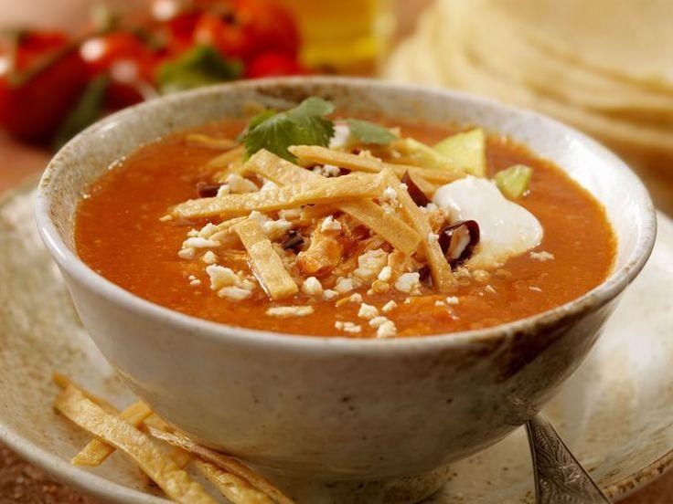 El Torito's Famous Sopa de Tortilla Recipe