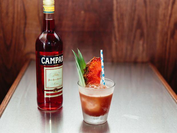 The Salty Bird Cocktail #cocktails #mixology