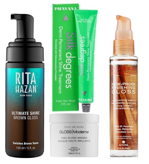 Hair Glaze vs. Hair Gloss? We've Got The Scoop on the Actual Difference from InStyle.com