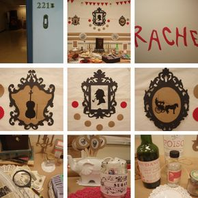 """Sherlock Holmes party based on """"A Study in Scarlet"""" - Family and friends...my birthday is in September...plan this!"""
