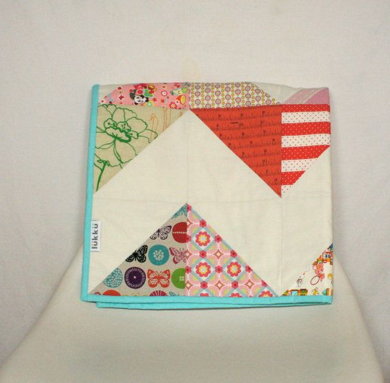 Hand quilted baby quilt by Lukku by Lukku on Etsy, $189.00