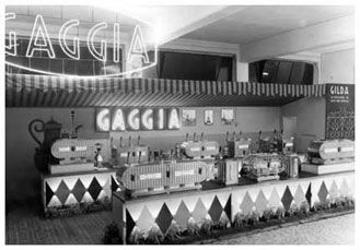 The rich coffee history by Gaggia Milano