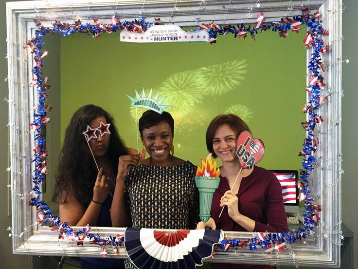 4th of July celebration at Hunter College in New York City! Hunter College IELI honored US Independence Day, also known as the 4th of July, a few days early. Here are a few of the cool photos they sent to us. You can view more photos on facebook.com/IELIatHunter. Information on Hunter College International English Language Institute: http://studyusa.com/en/schools/p/ny124/hunter-college-international-english-language-institute #HunterCollege #NYC