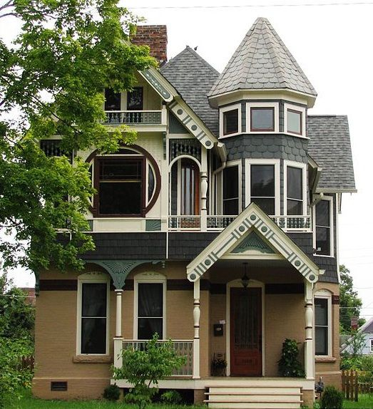George F Barber (1854-1915) Self taught architect...One of the first to offer mail order house plans...