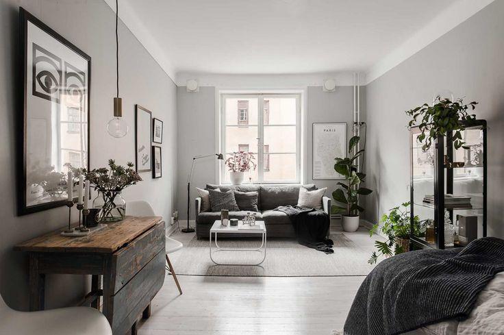 Gravity Home: A Cozy Grey Studio Apartment
