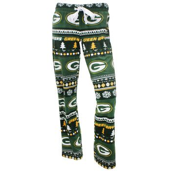 Green Bay Packers Women's Ugly Fleece Pant at the Packers Pro Shop http://www.packersproshop.com/sku/5801026287/