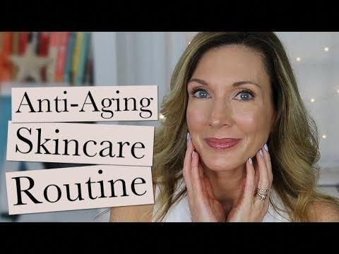 My Current Anti Aging Skincare Routine Over 50 A Beauty Post From The Blog Hot Flashy W Anti Aging Skincare Routine Skin Care Serum Anti Aging Skin Care