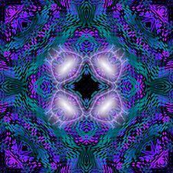 Dit is een symmetrische compositie omdat, het beeld gespiegeld kan worden.