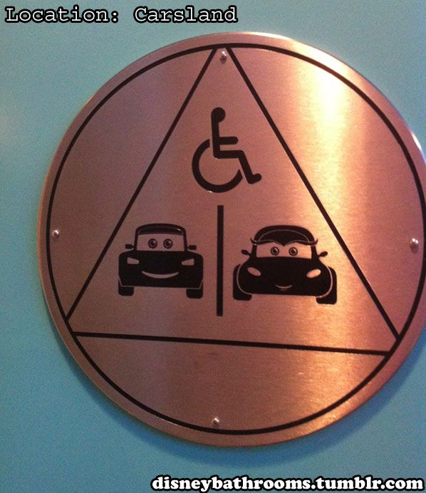 Bathroom Sign Location 87 best cars bathroom images on pinterest | disney pixar cars