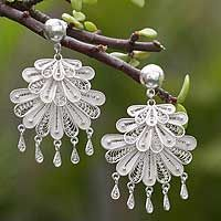 Silver Dance from @NOVICA, They help #artisans succeed worldwide. (Love the filigree on these!)