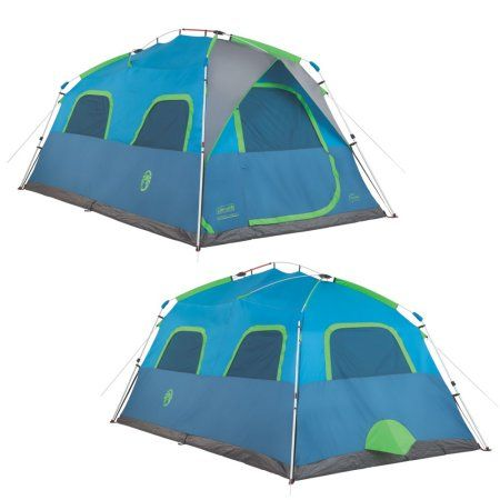 Coleman Signal Mountain Instant Tent, 8 Person, Blue