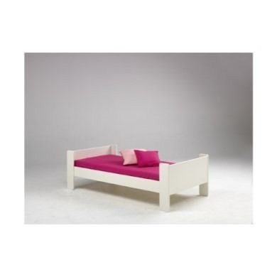 Steens For Kids Continental Single Bed In White