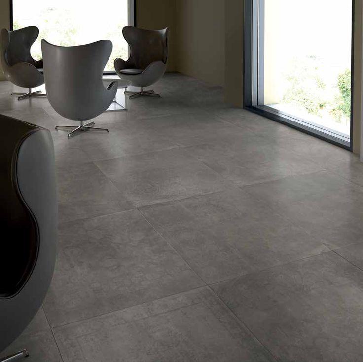 pvc vloer beton look