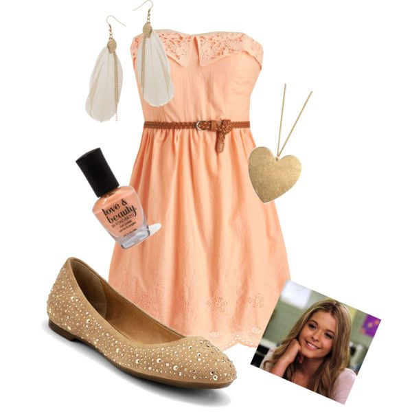 Would look great on Korina with a shrug. alison dilaurentis fashion | Alison DiLaurentis