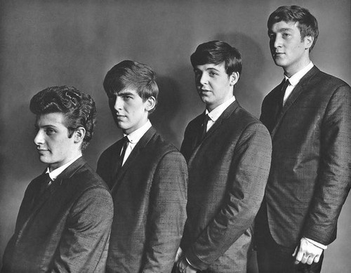 The Beatles with Pete Best, early 1960s.: The Beatles, Early Beatles, Thebeatles, Band, Paul Mccartney, Pete, Fab, Photo