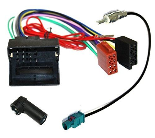 Aerzetix–Adaptateur câble pour autoradio ISO et adaptateur pour câble d'antenne. #Aerzetix–Adaptateur #câble #pour #autoradio #adaptateur #d'antenne.