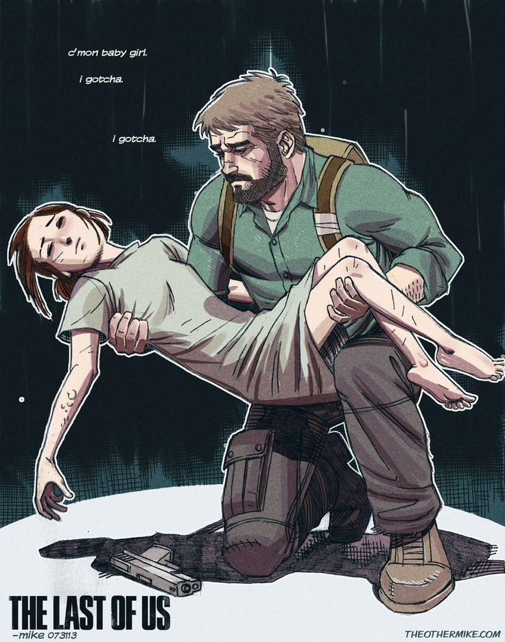 The Last Of Us- Winter by *MikeDimayuga on deviantART. Don't mind me I'm just CRYING