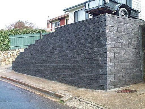 Best 25 Large retaining wall blocks ideas on Pinterest Fire pit