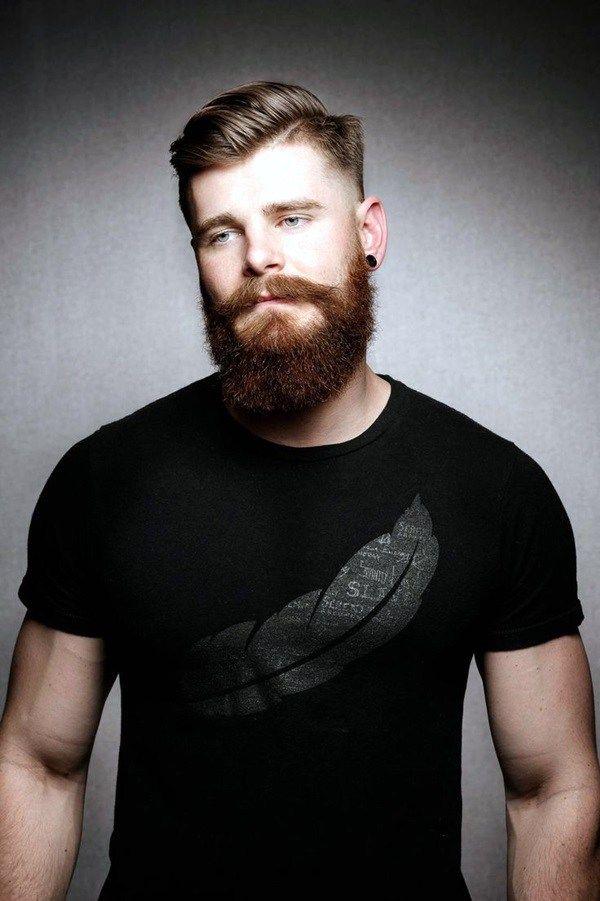 Astounding 1000 Ideas About Long Beard Styles On Pinterest Handlebar Short Hairstyles Gunalazisus