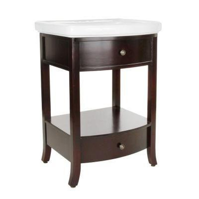 birch vanity espresso vitreous china pegasus bathroom sinks granite tops white