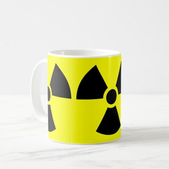 #zazzle #Radiation #White #Coffee  #Mug #office #home #travel #gşft #giftidea