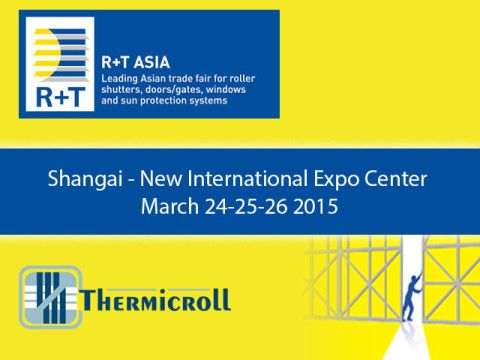 #RT #Expo #Asia: #Thermicroll #industrial #doors will be there!