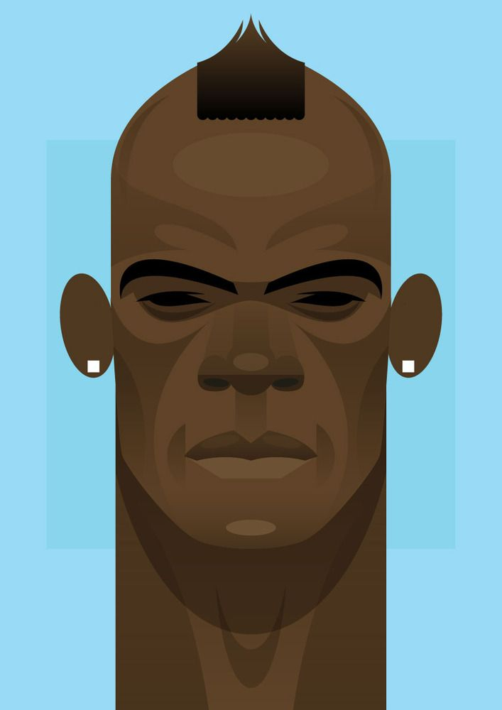 """""""Why always me?"""" by Stanley Chow: Digital Art, Graphics Design, Mario Balotelli, Mariobalotelli, Soccer Prints, Super Mario, Stanley Chow, Chow Illustrations, Design Blog"""