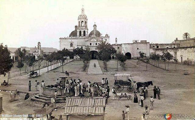 Convento de la Santa Cruz 1885, Queréataro.