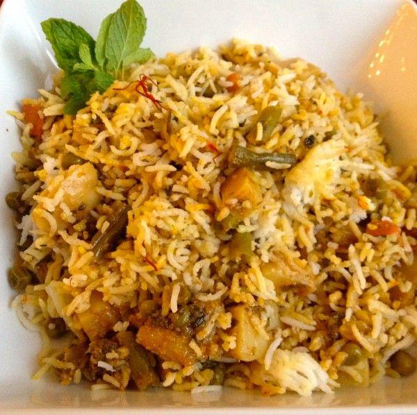 Vegetable biryani | Yummy foods to make | Pinterest