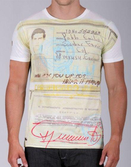 Pablo Escobar T Shirt http:/www.beautips.it/pablo-escobar-da-trafficante-a-logo-di-una-t-shirt/#