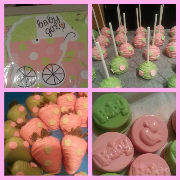 Pink And Green Baby Shower And The Thing That Says Baby Shower You Can Buy  At