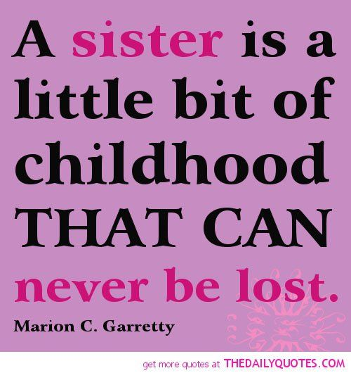 Poems And Quotes About Sisters. QuotesGram
