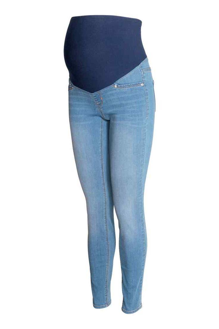 MAMA Super Skinny Jeans - Bleu denim clair - FEMME | H&M FR