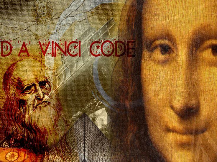 The Da vinci code poster by me.....