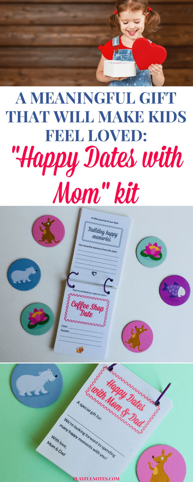 Date cards for kids: These date coupons for kids are a wonderful way to offer them a meaningful gift, make them feel loved and plan many happy moments together. | Mom-child date ideas | Printable coupons for kids #PositiveParenting