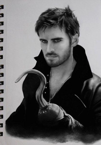 Killian Jones, Captain Hook by DominiqueWesson.deviantart.com